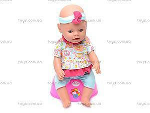 Кукла-пупс, интерактивная с аксессуарами, 8002-8, фото
