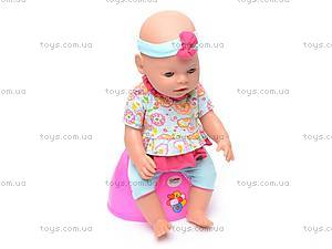 Кукла-пупс, интерактивная с аксессуарами, 8002-8, отзывы