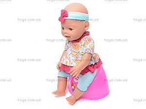 Кукла-пупс, интерактивная с аксессуарами, 8002-8, цена