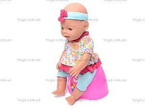 Кукла-пупс, интерактивная с аксессуарами, 8002-8, игрушки