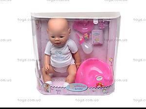 Кукла-пупс, интерактивный, 8002-9, цена