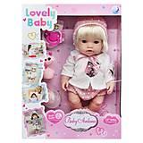 "Кукла-пупс ""Lovely Baby"" (DH2267B), DH2267B, купить"