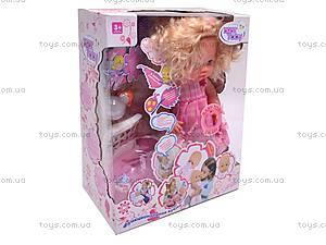 Кукла-пупс музыкальная, 30666-5B, цена