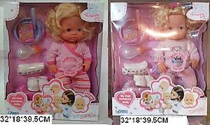 Кукла-пупс, музыкальный, 82001-4B/5B