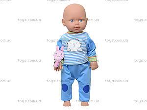 Интерактивная кукла-пупс, может ползать, 532929-229-3, игрушки