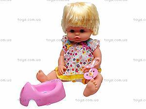 Кукла-пупс, пускает пузыри, 22022