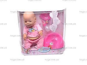 Кукла-пупс, с аксессуарами, 8002-3, цена