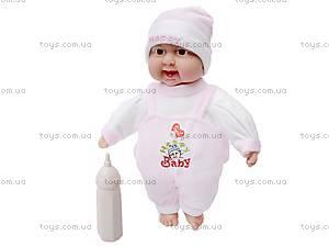 Кукла-пупс с бутылкой, 9011, купить