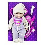 "Кукла-пупс с докторским набором ""Малыш"", PU11"