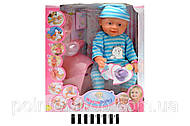 Кукла-пупс с соской, 8004-404B, фото
