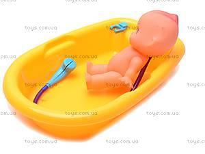 Кукла-пупс, с ванной, 883-8, отзывы