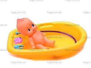 Кукла-пупс, с ванной, 883-8, цена