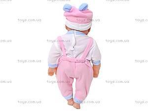 Кукла-пупс улыбающаяся, 3368E, купить