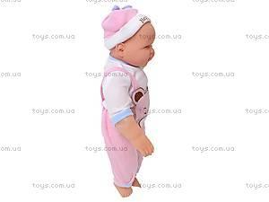 Кукла-пупс улыбающаяся, 3368E, фото