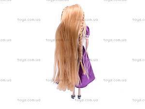 Кукла «Рапунцель», с длинными волосами, 1370, купить