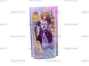 Кукла «Рапунцель», с длинными волосами, 1370, цена