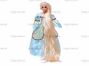 Кукла «Рапунцель», с косичками, L-2D