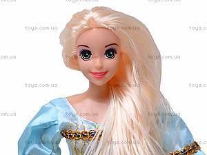 Кукла «Рапунцель», с косичками, L-2D, купить