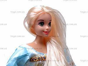 Кукла «Рапунцель», с косичками, L-2D, игрушки