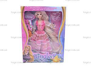 Кукла «Рапунцель», с украшениями, L-3D, цена