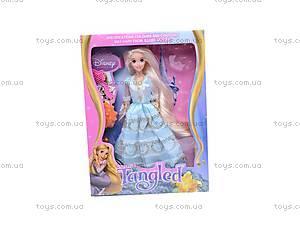 Кукла «Рапунцель», с украшениями, L-3D, магазин игрушек