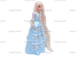 Кукла «Рапунцель», с украшениями, L-3D, toys.com.ua