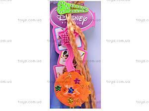 Кукла «Рапунцель», с заколками, L-3E, детские игрушки