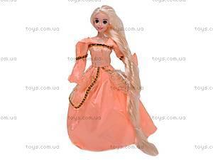 Кукла «Рапунцель», с заколками, L-3E