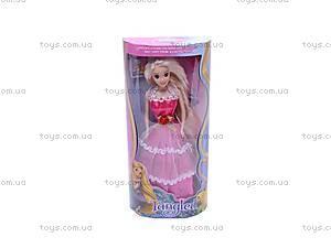 Кукла «Рапунцель», в бальном платье, L-2A, фото