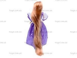 Кукла «Рапунцель», в блестящем платье, L-2C, купить