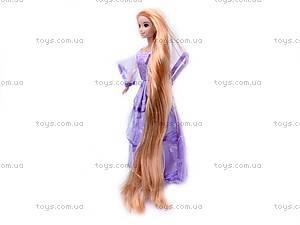 Кукла «Рапунцель», в блестящем платье, L-2C, фото