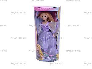Кукла «Рапунцель», в блестящем платье, L-2C, цена