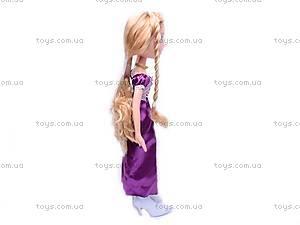Кукла «Рапунцель», в нарядном платье, 1375, отзывы