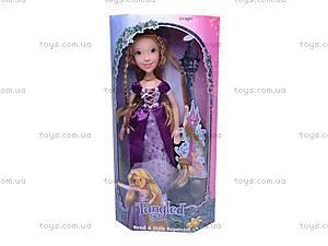 Кукла «Рапунцель», в нарядном платье, 1375, игрушки