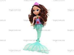 Детская кукла «София Русалка», 811A, магазин игрушек