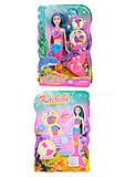 Кукла-русалка со светящимся хвостом, BLD150, детские игрушки