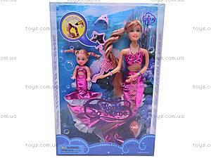 Кукла-русалка меняет цвет волос, 21011, купить