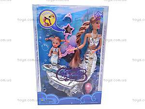 Кукла-русалка меняет цвет волос, 21011, цена