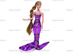 Кукла-русалка меняет цвет волос, 21011, детские игрушки