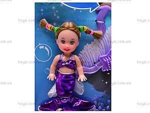 Кукла-русалка меняет цвет волос, 21011, toys