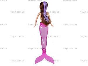 Кукла-русалка с музыкальными эффектами, JL228-3, купить