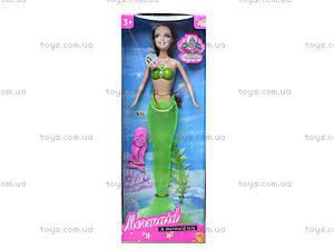 Кукла-русалка с музыкальными эффектами, JL228-3, фото