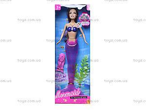 Кукла-русалка с музыкальными эффектами, JL228-3, цена