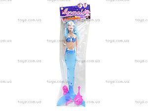 Музыкальная кукла-русалка со светом, JL228-6, детские игрушки