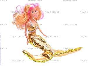 Кукла-русалка с аксессуарами, 177-6, фото