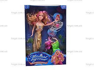 Кукла-русалка с аксессуарами, 177-6, игрушки