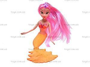 Кукла-русалка с детками, B9001