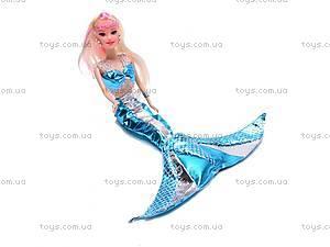 Кукла-русалка с дочкой и дельфином, 0228C