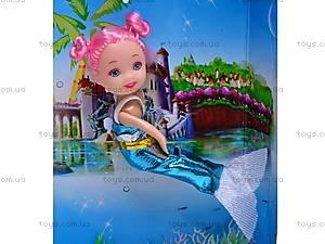 Кукла-русалка с дочкой и дельфином, 0228C, игрушки