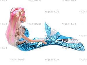 Кукла-русалка с дочкой и дельфином, 0228C, детские игрушки